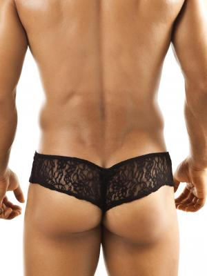 Joe Snyder Briefs, Item number: JSL 04 Black Lace Cheek brief, Color: Black, photo 3