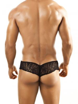 Joe Snyder Briefs, Item number: JSL 04 Black Lace Cheek brief, Color: Black, photo 4
