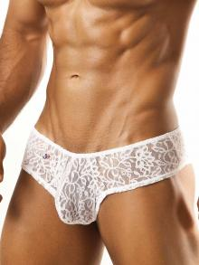 Briefs, Joe Snyder, Item number: JSL 04 White Lace Cheek brief