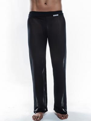 Joe Snyder Lounge Pants, Item number: JS 30 Sheer Black Pants, Color: Black, photo 1