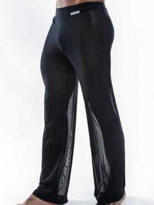 Joe Snyder Lounge Pants, Item number: JS 30 Sheer Black Pants, Color: Black, photo 3