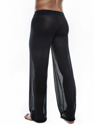 Joe Snyder Lounge Pants, Item number: JS 30 Sheer Black Pants, Color: Black, photo 5