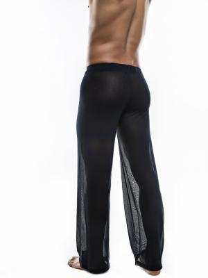 Joe Snyder Lounge Pants, Item number: JS 30 Sheer Black Pants, Color: Black, photo 6