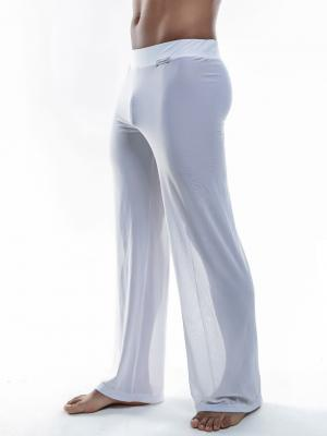 Joe Snyder Lounge Pants, Item number: JS 30 Sheer White Pants, Color: White, photo 1