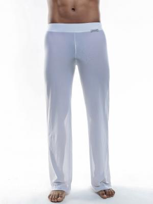 Joe Snyder Lounge Pants, Item number: JS 30 Sheer White Pants, Color: White, photo 3
