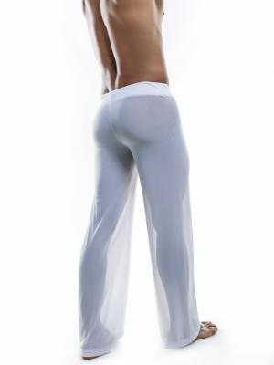 Joe Snyder Lounge Pants, Item number: JS 30 Sheer White Pants, Color: White, photo 6
