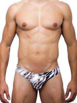 Joe Snyder Briefs, Item number: JS 01 Leopard Bikini Brief, Color: Multi, photo 2
