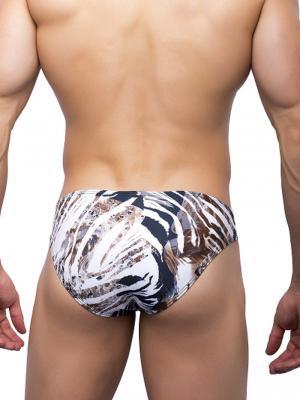 Joe Snyder Briefs, Item number: JS 01 Leopard Bikini Brief, Color: Multi, photo 3