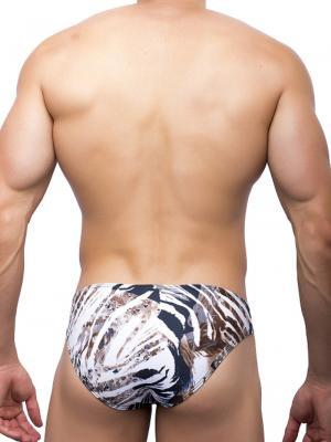 Joe Snyder Briefs, Item number: JS 01 Leopard Bikini Brief, Color: Multi, photo 4