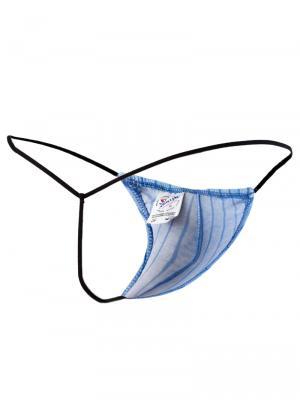 Joe Snyder Strings, Item number: JS 02 Blue G-string for Men, Color: Blue, photo 7