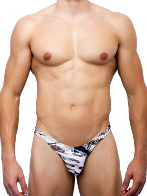 Joe Snyder Briefs, Item number: JS 07 Leopard Capri Brief, Color: Multi, photo 2