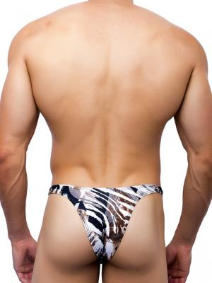 Joe Snyder Briefs, Item number: JS 07 Leopard Capri Brief, Color: Multi, photo 4