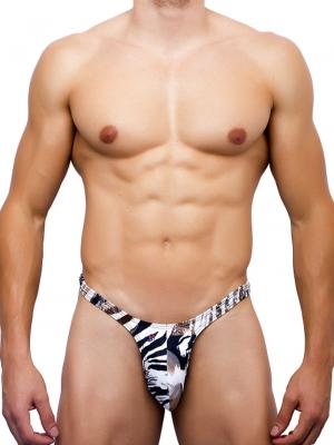 Joe Snyder Thongs, Item number: JS 11 Leopard Mens Rio Thong, Color: Multi, photo 2