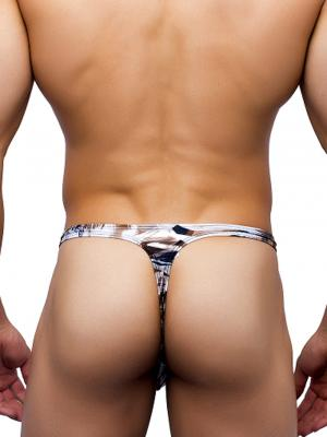 Joe Snyder Thongs, Item number: JS 11 Leopard Mens Rio Thong, Color: Multi, photo 3