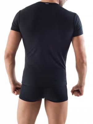 Geronimo T shirt, Item number: 1351t3 Black Mens Tshirt, Color: Black, photo 4