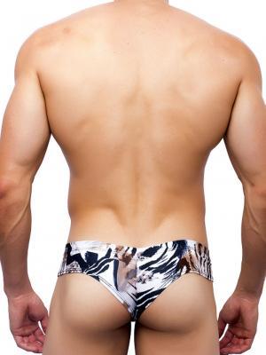 Joe Snyder Boxers, Item number: JS 22 Leopard Mini Cheek Bikini, Color: Multi, photo 4