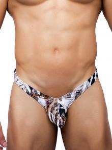 Tanga, Joe Snyder, Item number: JSBul 01 Leopard Bikini Bulge