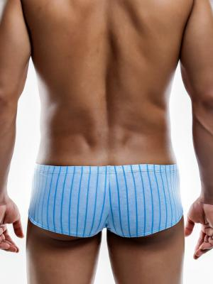 Joe Snyder Boxers, Item number: JSBul 03 Blue Bulge Boxer, Color: Blue, photo 4