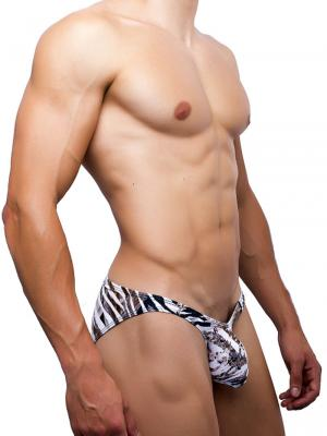 Joe Snyder Briefs, Item number: JSBul 04 Leopard Bulge Bikini, Color: Multi, photo 2