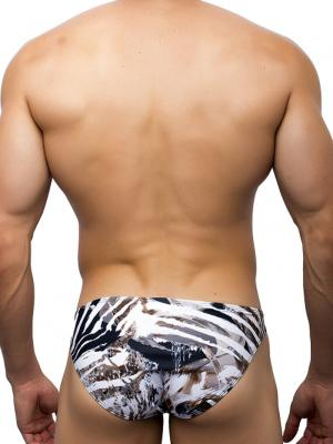 Joe Snyder Briefs, Item number: JSBul 04 Leopard Bulge Bikini, Color: Multi, photo 4