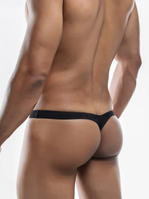 Joe Snyder Thongs, Item number: JSMBUL 06 Black Maxi Bulge Thong, Color: Black, photo 7