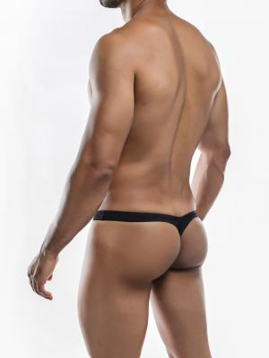 Joe Snyder Thongs, Item number: JSMBUL 06 Black Maxi Bulge Thong, Color: Black, photo 8