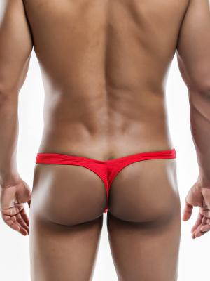 Joe Snyder Thongs, Item number: JSMBUL 06 Red Maxi Bulge Thong, Color: Red, photo 7