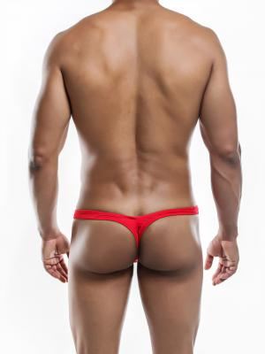 Joe Snyder Thongs, Item number: JSMBUL 06 Red Maxi Bulge Thong, Color: Red, photo 8