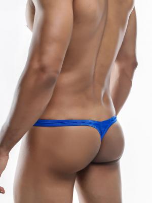 Joe Snyder Thongs, Item number: JSMBUL 06 Royal Maxi Bulge Thong, Color: Blue, photo 7