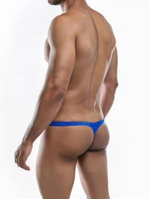 Joe Snyder Thongs, Item number: JSMBUL 06 Royal Maxi Bulge Thong, Color: Blue, photo 8