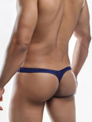 Joe Snyder Thongs, Item number: JSMBUL 06 Navy Maxi Bulge Thong, Color: Blue, photo 7