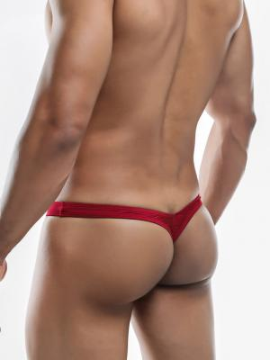 Joe Snyder Thongs, Item number: JSMBUL 06 Wine Maxi Bulge Thong, Color: Red, photo 7