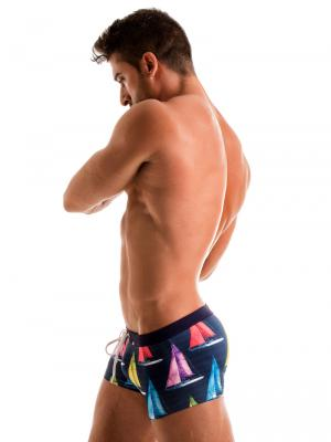 Geronimo Boxers, Item number: 1901b1 Yacht Swim Trunk, Color: Multi, photo 4