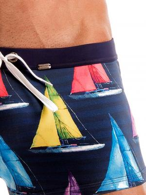 Geronimo Boxers, Item number: 1901b1 Yacht Swim Trunk, Color: Multi, photo 5
