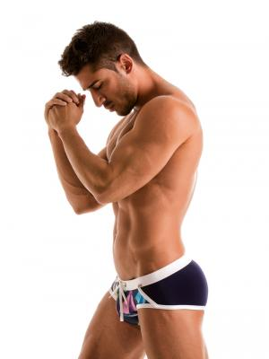 Geronimo Briefs, Item number: 1901s4 Yacht Mens Swim Brief, Color: Multi, photo 4