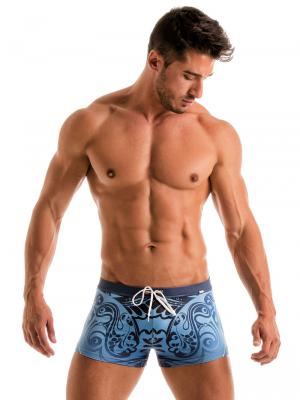 Geronimo Boxers, Item number: 1904b1 Vibrant Swim Trunk, Color: Multi, photo 2