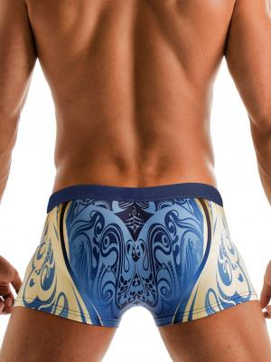 Geronimo Boxers, Item number: 1904b1 Vibrant Swim Trunk, Color: Multi, photo 4