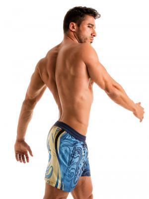 Geronimo Swim Shorts, Item number: 1904p1 Vibrant Swim Short, Color: Multi, photo 3