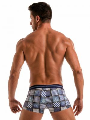 Geronimo Boxers, Item number: 1912b1 Denim Swim Trunk, Color: Multi, photo 6