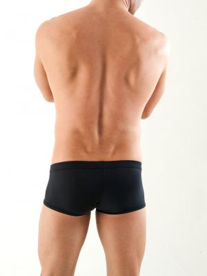 Geronimo Boxers, Item number: 1353b2 Black Fetish Boxer, Color: Black, photo 6