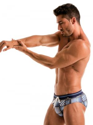 Geronimo Briefs, Item number: 1912s2 Denim Swim Brief, Color: Multi, photo 3