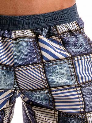 Geronimo Swim Shorts, Item number: 1912p1 Denim Swim Short, Color: Multi, photo 5