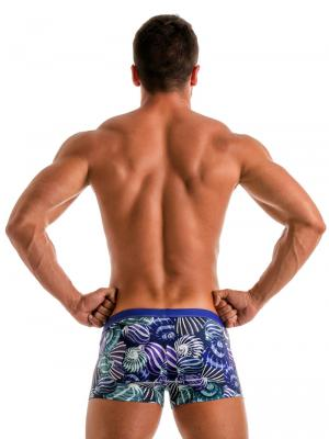 Geronimo Boxers, Item number: 1903b1 Blue Shell Swim Trunk, Color: Blue, photo 5