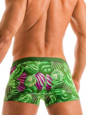 Geronimo Boxers, Item number: 1903b1 Green Shell Swim Trunk, Color: Green, photo 4