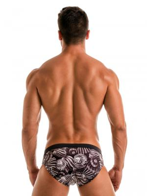 Geronimo Briefs, Item number: 1903s2 Dark Shell Swim Brief, Color: Black, photo 5