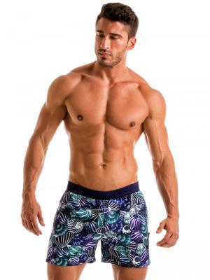Geronimo Swim Shorts, Item number: 1903p1 Blue Shell Swim Short, Color: Blue, photo 2