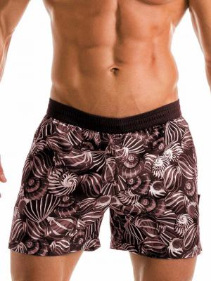Geronimo Swim Shorts, Item number: 1903p1 Dark Shell Swim Short, Color: Black, photo 1