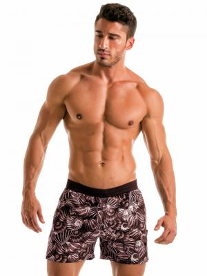 Geronimo Swim Shorts, Item number: 1903p1 Dark Shell Swim Short, Color: Black, photo 2