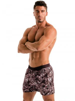 Geronimo Swim Shorts, Item number: 1903p1 Dark Shell Swim Short, Color: Black, photo 3