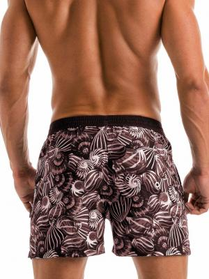 Geronimo Swim Shorts, Item number: 1903p1 Dark Shell Swim Short, Color: Black, photo 4